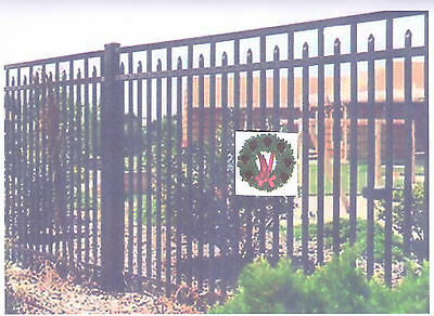 ALUMINUM ORNAMENTAL FENCE FOR ALL PURPOSE USAGE / USA SINCE 1986  / DIRECT