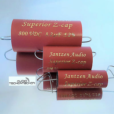 Jantzen Z-Superior Cap All Tube, 1,00 µF, 800 VDC