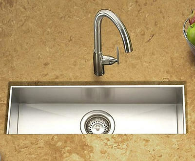"OVERSTOCK SALE - Deeper & wider 23"" Zero Radius Bar Sink, Blanco Quality-2309A-9"