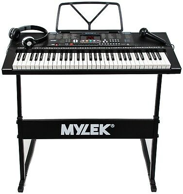 Musical Keyboard Electronic Digital Piano 61 Key Adults Beginner With Stand