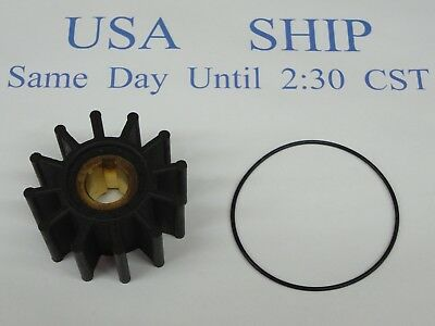 Impeller kit Sierra 18-3060 Sherwood 9959k Jabsco Crusader 22212 OMC Volvo