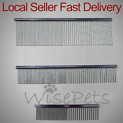 Pet Dog Cat Hair Grooming Stainless Steel Brush Comb