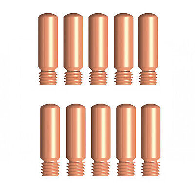 MIG Contact Tips - TWECO #1 Style - 1.2 mm - 10 pack - LONG LIFE -11-45