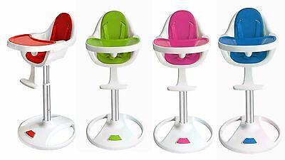 327ce8d7f4b02 Bebe Style Modern Swivel 360 Highchair. Easy Clean Baby child kids high  chair