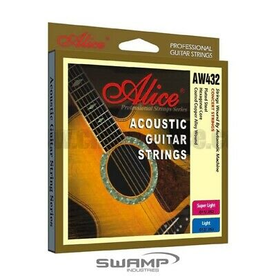 Alice Steel Acoustic Guitar Strings - 11-52