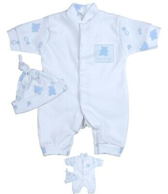 6dd975f47997 BABYPREM BABY BOYS Clothes Blue White Knitted Cardigan Sweater ...