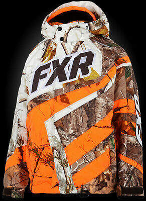 2015 FXR YOUTH COLD CROSS JACKET REALTREE  SIZE 14 #15303.33314