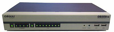 Obihai OBi508 VoIP Telephone Adapter with 8-Phone Ports FXS T.38 Fax PSTN