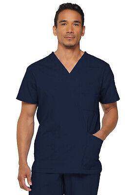 Dickies Scrubs EDS Men's Scrub Top 81906 NAVY NVWZ Dickies Signature
