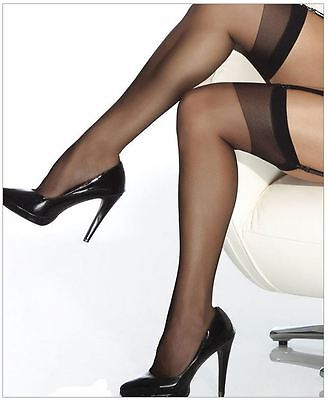 Plus Size 16 to 22 Sheer Thigh High Stockings by Coquette More Colours