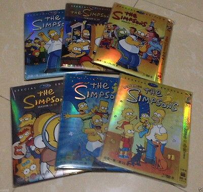 The Simpsons Season 1 - 25 DVD Collection SET - NEW