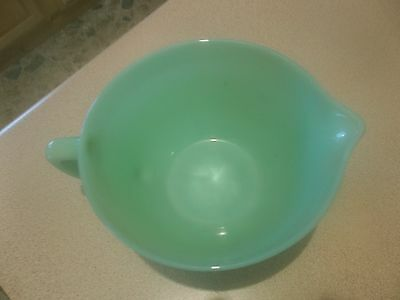 """Fire-king  cup Oven Ware Made in U.S.A. 7 1/2"""" by 3 1/2 inch"""