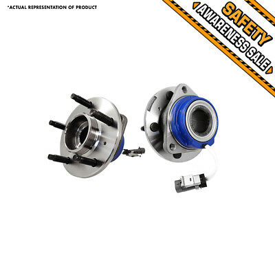 2 NEW Front Left & Right Wheel Hub and Bearing Assembly Pair Chevy Olds Pontiac