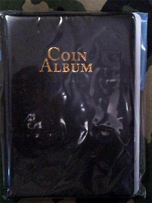 60 Pocket Coin Album Holder 2x2 Mylar Whitman Protector Book Storage NIP