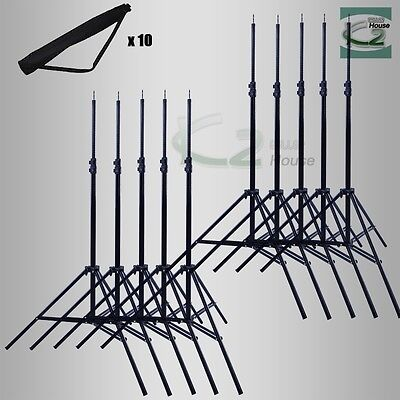 Wholesale 10pcs 6.7Ft Photo Studio Light Stands for Boom Reflectors Background