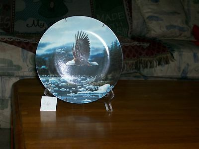 W.S.George Bald Eagle Collector Plate
