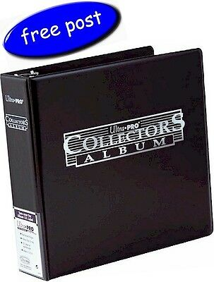 Ultra Pro Collectors Album/Binder 3 Inch 3 Ring Black - Free UK Post