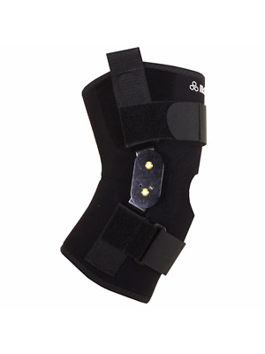 McDavid ClassicLogo 429X CL Level 3 Knee Brace Polycentric Hinges  Straps Small