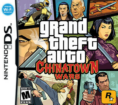 GRAND THEFT AUTO: CHINATOWN WARS  BRAND NEW (Nintendo DS, 2009) FREE SHIPPING