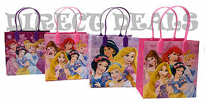 12 Disney Princess Party Favors Gift Toy Bags Birthday Candy Treat Loot Bag Sack