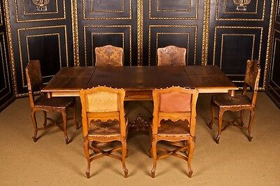 A-51 Old Antique Dining Room Table by Master Carpenter Jacob Kain