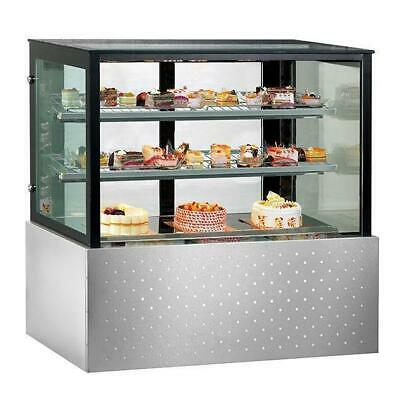 Cake & Food Display Unit, Chilled Refrigerated Cabinet 1200x700x1250mm
