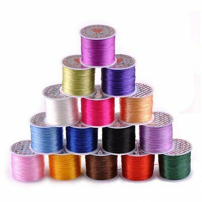 Colorful Elastic Stretch Jewelery Bracelet Beads Making Thread Cord String 10m