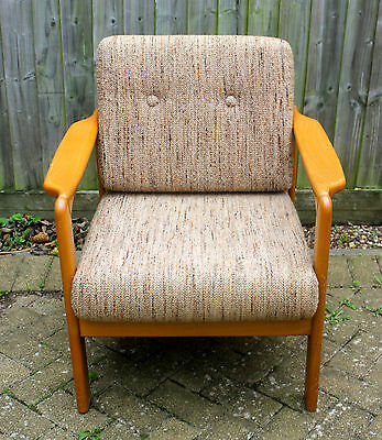 Mid Century/ Modern Design/ Original Imported from German Vintage Armchair