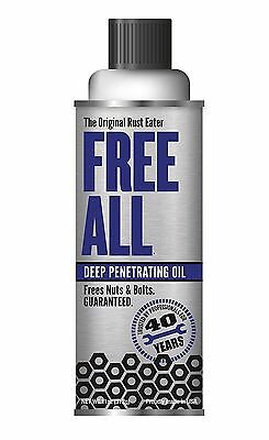 GASOILA FREE ALL - Deep Penetrating Oil - 11 oz.