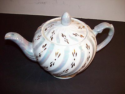 Ellgreave Wood & Sons England Ironstone Teapot Collectible