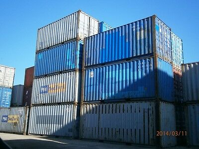 20ft. (Fuß) Seecontainer, Lagercontainer, Materialcontainer, Baustellencontainer