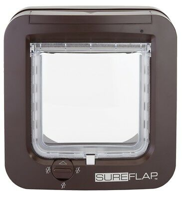 GENUINE Sureflap Microchip CatFlap Brown Posted Today If Paid Before 3pm