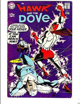 Hawk and the Dove 6 (1969): FREE to combine: in Very Good condition