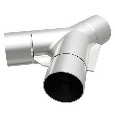 Single Dual//3in MAGNAFLOW 10778 UNIVERSAL Stainless Y-Pipe Transition 2.5in