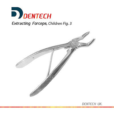 Tooth Extracting Forceps Dental Upper Molar Extraction Instrument Children Fig:3