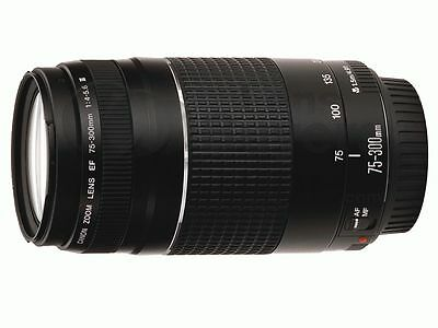 Canon EF 75-300 mm F/4.0-5.6 III Lens( In Sealed Original Retail Package)( USA )