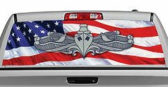 Truck Rear Window Decal Graphic [Military / Naval Warfare] 20x65in DC06903