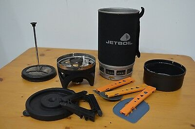 Jetboil Original Cooking System with Accessories - 1.0 Litre, Black