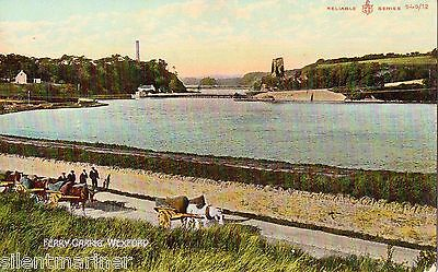 Ferrycarrig, Wexford, old coloured postcard, unposted