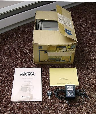 PANASONIC TR-5090P - BLACK / WHITE TELEVISION - 1982 - WORKS!! - GREAT CONDITION