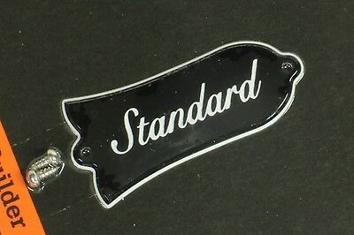 Genuine Gibson Les Paul Standard Truss Rod Cover 2ply New