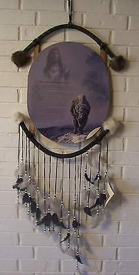 Chico's Art Indian Mandella Vintage Handmade Dream Catcher Preowned