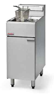 Fastfri FF18 Gas Fryer 18Lt 400mm NAT or LPG Made by Moffat Restaurant Cafe