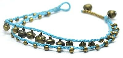 Blue Anklet, Ankle, Anklets, Chain Handmade, Chiang Mai