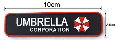 Resident Evil Umbrella Corporation Logo Badge Uniform Costume Velcro Patch New