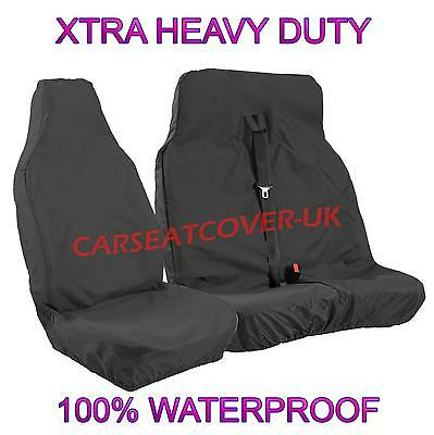 Mercedes Sprinter 313 CD Heavy Duty Waterproof Single Seat Cover Protector Black