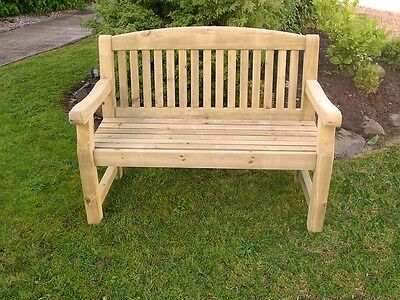 Peachy Athol 4Ft Foot Heavy Duty Wooden Garden Bench 169 95 Pdpeps Interior Chair Design Pdpepsorg
