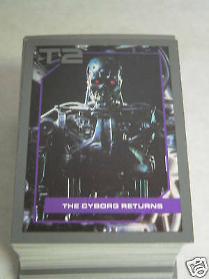 Impel Terminator 2  T-2  Complete 140 cards + 10 Market cards