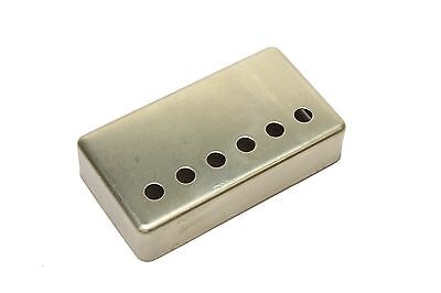 Humbucker Pickup cover NON-plated RAW nickel silver 50mm pole spacing
