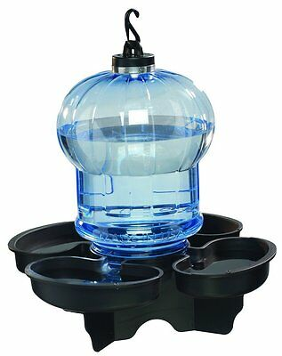 First Nature 3004 Globe Style Hanging or post mount Bird Bath and Waterer